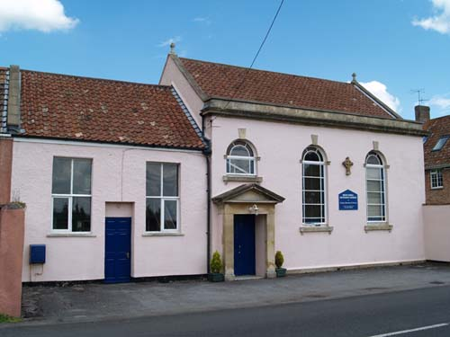 Photograph of Brent Knoll Methodist Church.